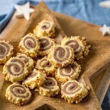 Вкусное новогоднее печенье с корицей