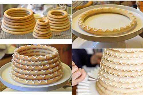 Как приготовить норвежский новогодний торт 4