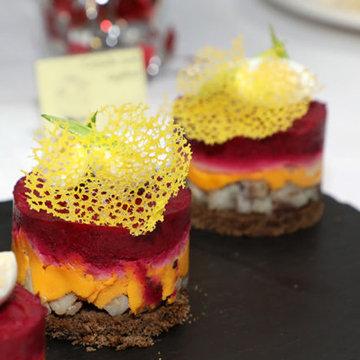Кружевные чипсы для украшения салата