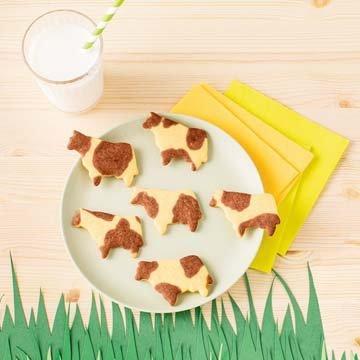 Печенье - пятнистая коровка