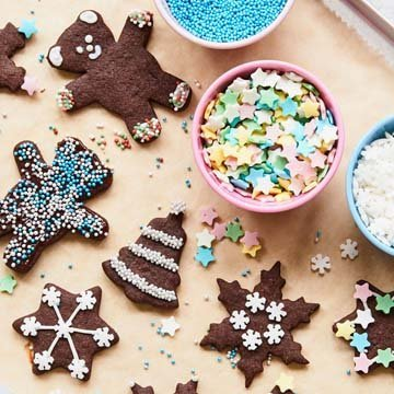Пусть дети украсят печенье