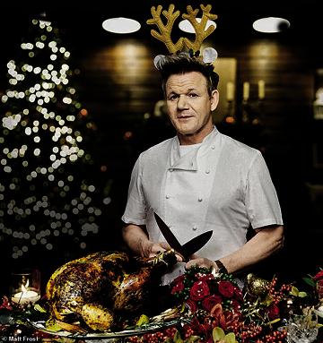 Рождественский жареный гусь Гордона Рамзи