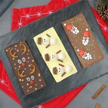 авторские плитки шоколада
