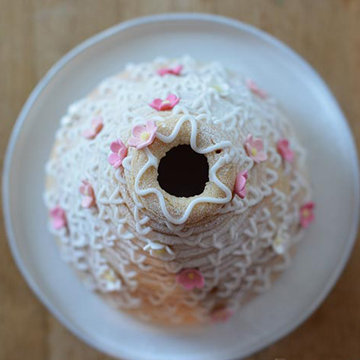 норвежский кольцевой новогодний торт