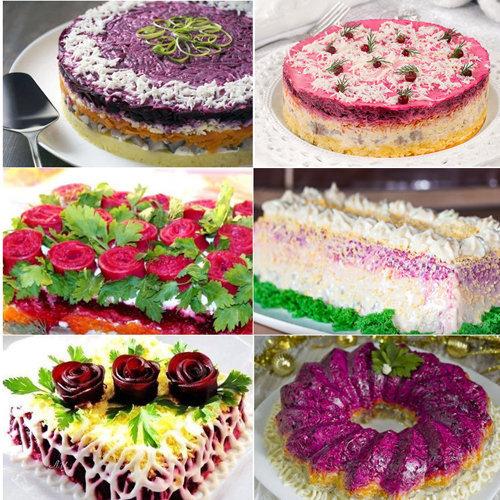 салат-торт 1