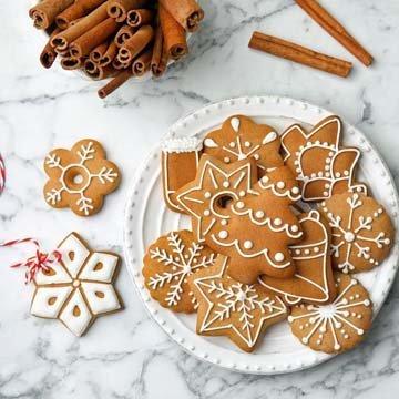 украсить домашнее печенье шоколадом и глазурью