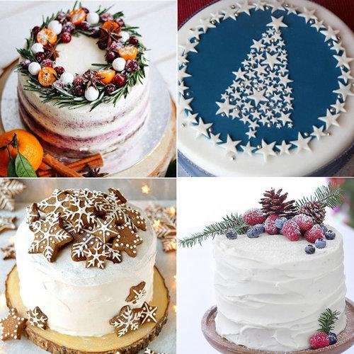2. Как украсить Новогодние торты 2021