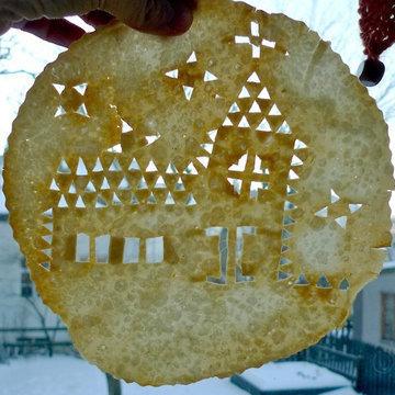 Laufabrau - рождественская выпечка по старинным рецептам