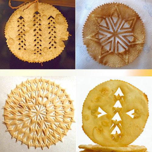 Laufabrauð традиционно едят в канун Рождества и Нового года