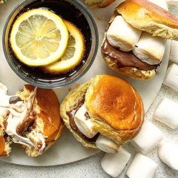 Десертные гамбургеры
