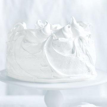 Кокосовый торт безе 1