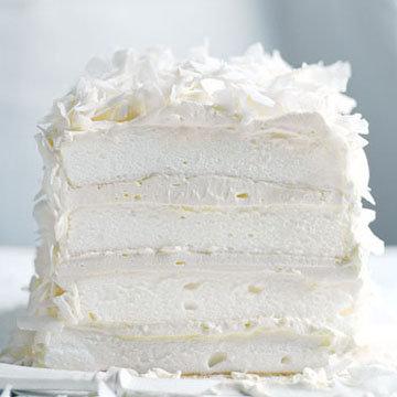 Кокосовый торт безе 2