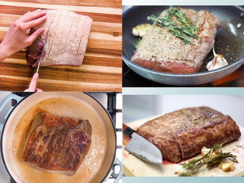 Ростбиф из говядины классический рецепт 3