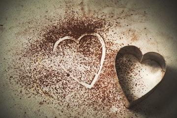 Главный мотив праздника - сердц