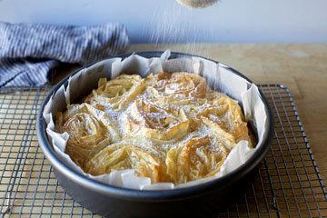 Как приготовить молочный пирог галатопита 1