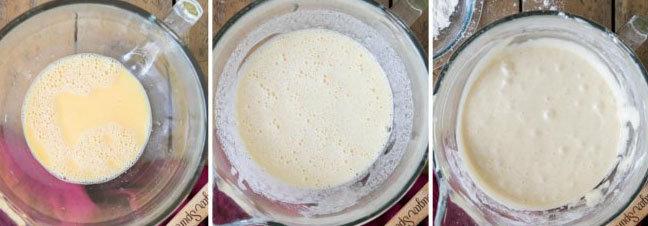 Молочный пирог проще не бывает 1