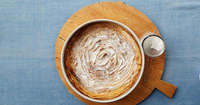 Молочный пирог рецепт с фило