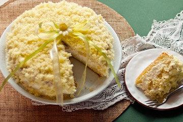 Простой рецепт торта Мимоза 1