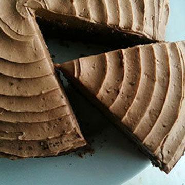 Шоколадный молочный пирог 2