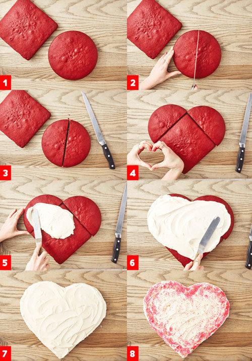 вот так легко сделать сердце