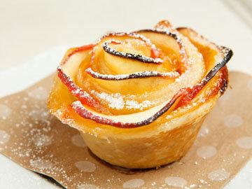 розы на десерт