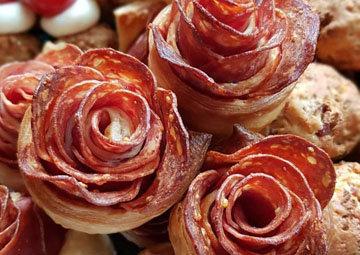 розы с пикантным вкусом на закуску