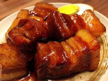 Вьетнамское блюдо из свинины ТХИТ ХО ТАУ