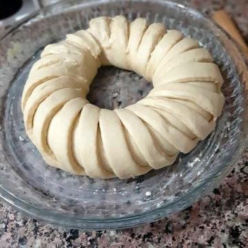 Как приготовить домашний хлеб Тюрбан 3
