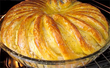 Как приготовить домашний хлеб Тюрбан 5