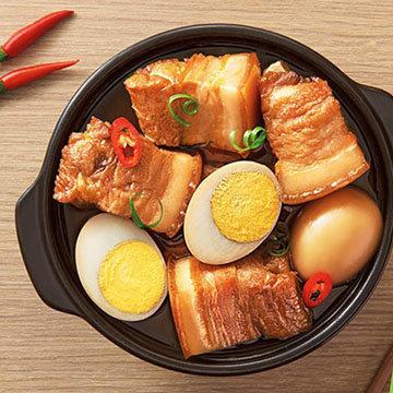 блюдо с яйцами вкуснее и сытнее