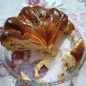вариант вкусного сладкого и красивого хлеба