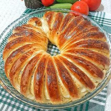 красивый домашний хлеб