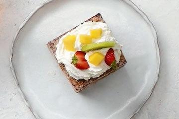 Быстрый пирог на сковороде