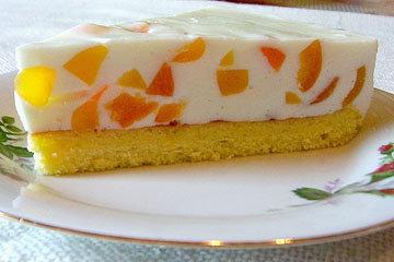 Детский желейный торт Мозаика 2