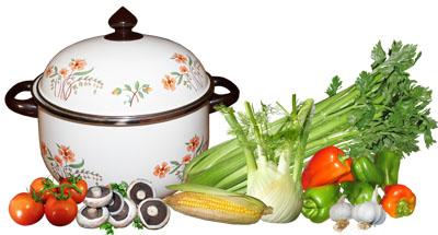 Из овощей можно приготовить множество разнообразных рецептов