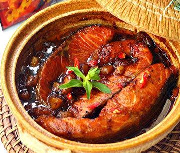 Лосось рецепт Cá hồi kho tộ