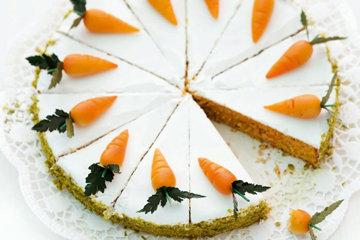 Морковный пирог самый простой в духовке