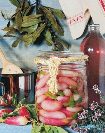 Необычный постный салат из редиса