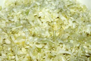 Постный салат из капусты 1