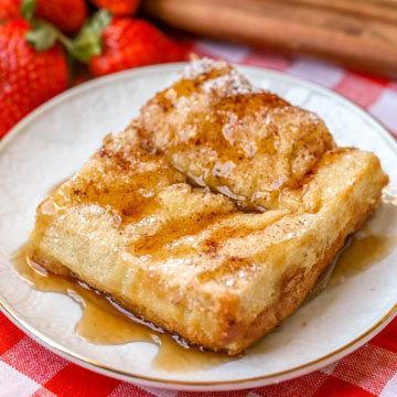 Рецепт быстрого пирога из тостов 3