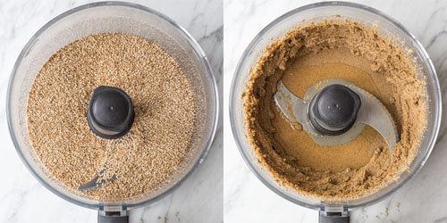 Рецепт домашнего тахини для кунжутного печенья 1