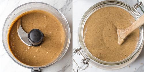 Рецепт домашнего тахини для кунжутного печенья 2
