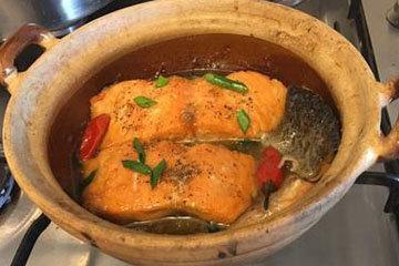 Самый легкий рецепт рыбы лосось 9