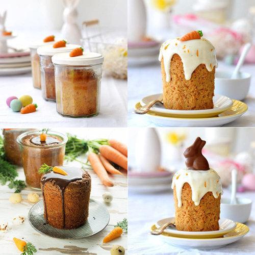 морковный пирог на Пасху вместо куличей