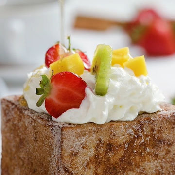 16. пирог French Toast Bowl