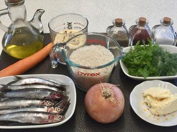 Как готовить Плов с анчоусами Hamsili Pilav 1