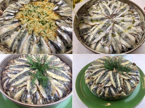 Как готовить Плов с анчоусами Hamsili Pilav 5