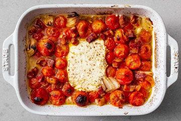 Как приготовить пасту с сыром и помидорами 1