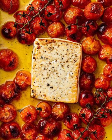 Как приготовить пасту с сыром и помидорами 3