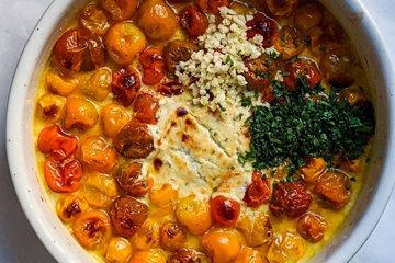 Как приготовить пасту с сыром и помидорами 4